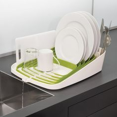 Arena Dishrack by Joseph Joseph #tech #flow #gadget #gift #ideas #cool
