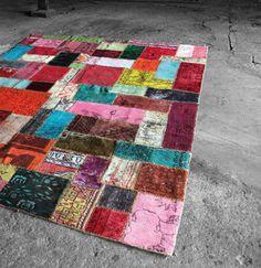 Handmade Patchwork Rug Design by Miinu