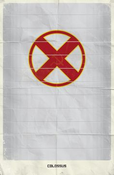 Marvel Minimalist Posters Vol.2 on the Behance Network #comics #colossus #marvel