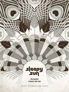 DKNG Studios » Posters #poster #feathers #dkng #sleepy sun