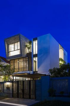 Modern Vertical Home Maximizes Light and Space in Nha Trang, Vietnam 19