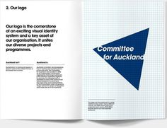 Committee for Auckland Brand Identity by Everything Design; a Branding & Graphic Design Company Auckland New Zealand. Everything Design. #br
