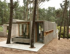 WANKEN - The Blog of Shelby White » The House Among Trees #argentina #wood #cement #architecture