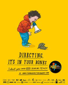 ~ Mr bingo ~ +44(0)7966 280431 #yellow #child #illustration #poster #film #turtle #drawing #humor