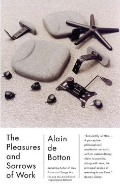 The Book Cover Archive: The Pleasures and Sorrows of Work, design by Keenan
