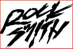 rocksmith font #ffff #rugged #as #logo #typography