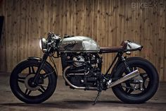 honda cafe racer #cafe #black #brown #bike #racer