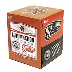 Sixpoint Brewery #packaging #beer #can #label