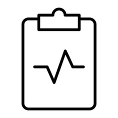 See more icon inspiration related to notepad, medical, cardiogram, hospital and medical result on Flaticon.