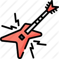 See more icon inspiration related to music and multimedia, bass guitar, electric guitar, string instrument, musical instrument, orchestra, guitar, bass, instrument and music on Flaticon.