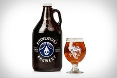 Rhinegeist Saber Tooth Tiger Beer #beer #packaging #reihngeist #rhinegeist #german