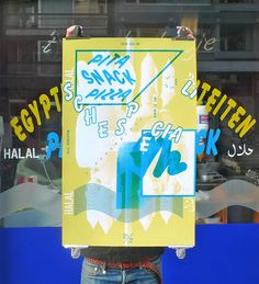 Studio Fluit: Vincent Metamorphosis Exhibition #color #storefront #poster #typography