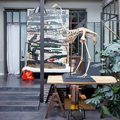 Benoit Jamin and Isabelle Puech Parisian Loft 3 #design #interiors #home