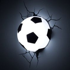 Soccer Ball 3D Deco Light #tech #gadget #ideas #gift #cool