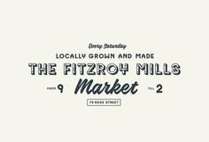 The Fitzroy Mills Market   Atollon