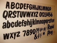 Dads Paper Signs — Casual Script