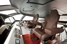 Adastra yacht pilothouse #super #adastra #yacht #modern