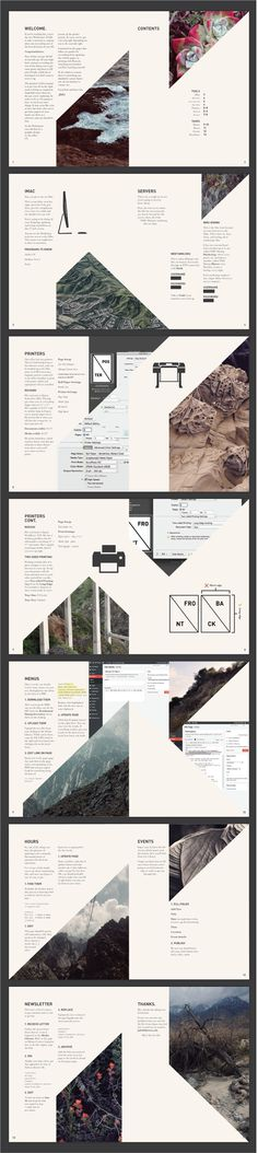 Print Manual by Graphic Jake #layout