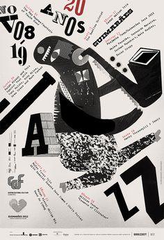 GUIMARxc3x83ES JAZZ 2011 POSTERS #design #poster #typography