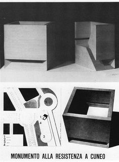 BETONBABE: Photo #architecture #aldo rossi #models #solid #void