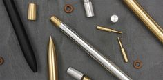 Products AJOTO #design #display #alumnium #ajoto #product #photography #brass #pen #metal