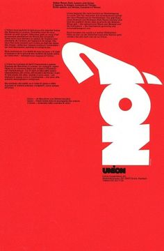 Poster for Swiss Bank - Design by Siegfried Odermatt