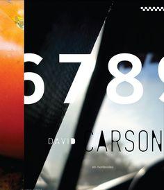 David Carson #design #graphic #quality #typography