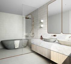 bath room / Luigi Rosselli Architects