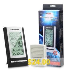 Digital #LCD #Indoor #Thermometer #Hygrometer #Temperature #Humidity #Meter