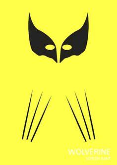 Wolverine Minimalist Poster