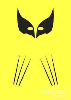 Wolverine Minimalist Poster #minimalist