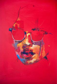 Jose Rivas #paint #knife