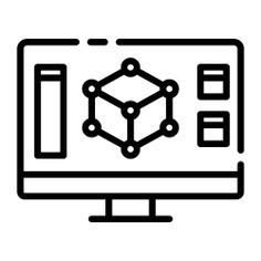 See more icon inspiration related to design, program, 3d, monitor, screen, 3d modeling, art and design, modeling, electronics and computer on Flaticon.