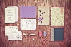 head vs. heart » #design #graphic #letterpress #invites #wedding