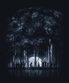 ILLUSTRATIONS II on the Behance Network #dark #tee