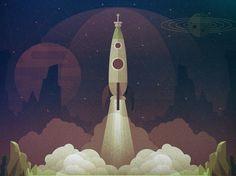 Liftoff - Justin Mezzell #mezzell #justin #rocket