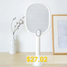 Hand-held #Rechargeable #Mosquito #Swatter #- #WHITE