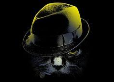 #illustration #hat #cat