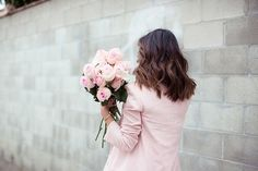 fashion, pink, roses, jacket