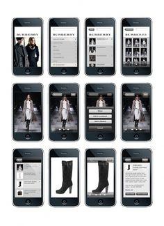 Burberry Website Pitch on Web Design Served #gdfgdfg