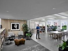 A Biophilic Design Studio Designed for Wellness in a Historic Office Tower 2