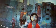 20_heroesoftomorrowlow.jpg (900×461) #heroes #of #illustration #painting #tomorrow #hem #andrew