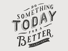 Do Something #lettering #typography