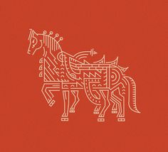 Sleipnir on Behance #horse