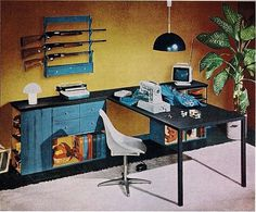 WANKEN - The Blog of Shelby White » Mid-Century Interior Design Flashback #interior #vintage