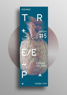 T R E E P #5 #leggo #poster #pineapple #music #fruits