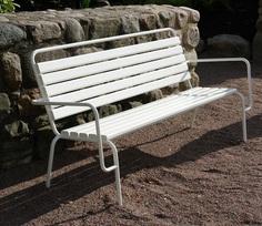 Tuben backed bench - Nola