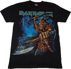 Iron Maiden T-shirt #fashion #printing #design #t-shirts