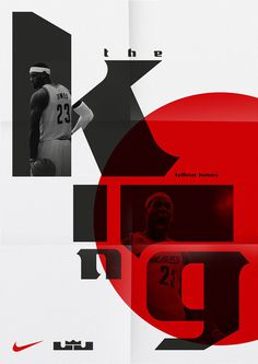sawdust conceives lebron james brand typeface for NIKE basketball