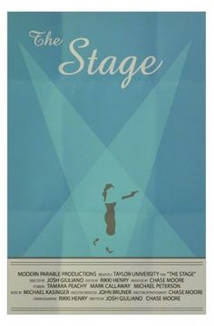 The Stage - Art Is War - by Jacob Fulton #movie #stage #gun #print #design #jacob #fulton #minimal #poster #art #heels #minimalist #dress